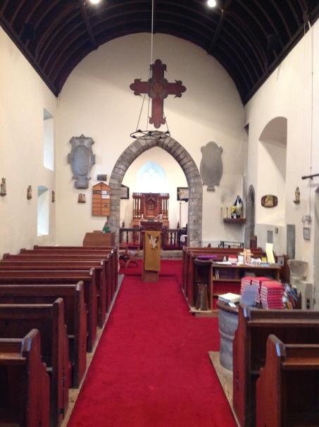 St. Cadoc's Interior