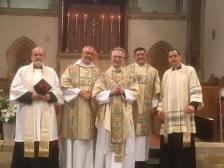 Fr Robert's anniversary