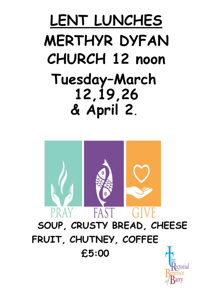 MD LENT LUNCHES 2019