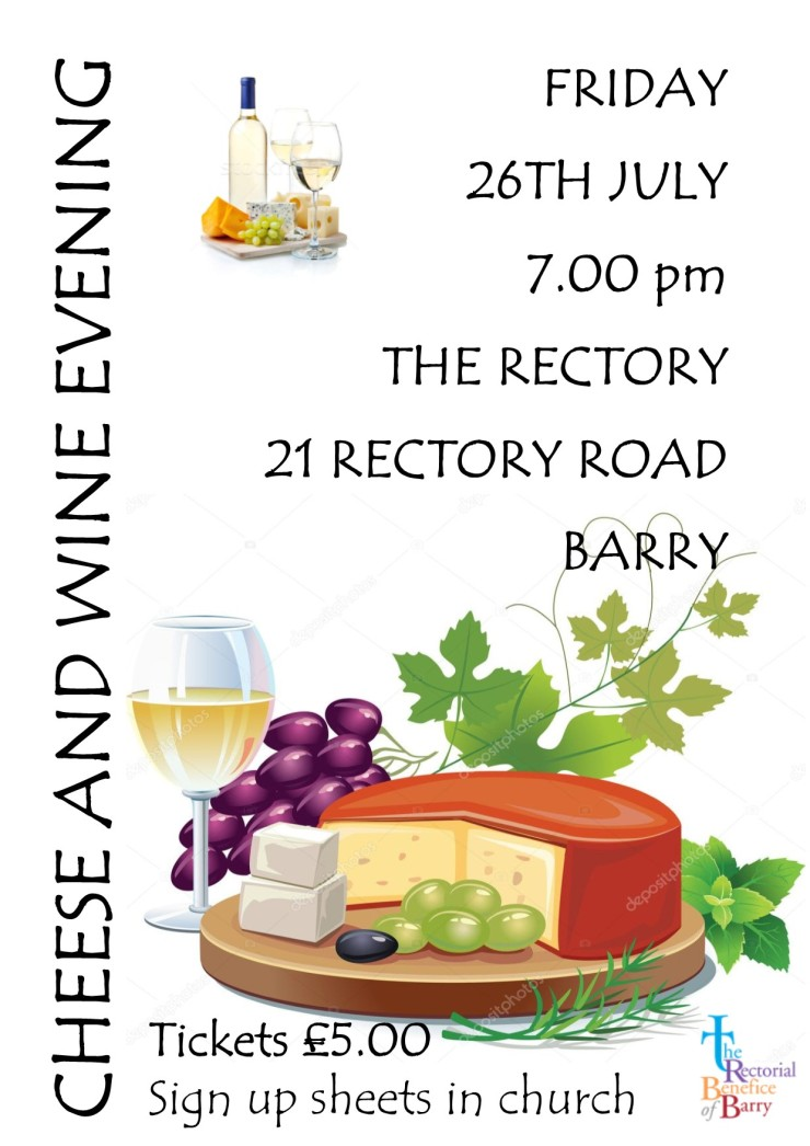 Cheese & wine evening July 2019